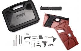 Polymer80 PF940V2BBSBLK PF940v2 Buy Build Shoot Kit Glock 17/22 Gen 3 Polymer Black 15rd