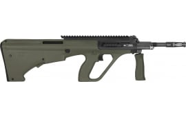 "Steyr Mannlicher AUGM1GRNEXT AUG A3 M1 16"" 30rd Green w/EXT Rail"