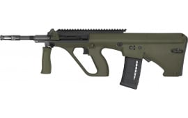 "Steyr AUG A3 M1 5.56mm 16"" Green NATO Stock Extended Rail Rifle"