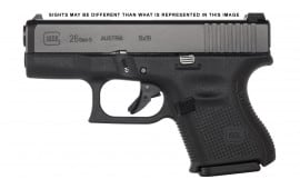 Glock PA2650301AB 26 G5 9M Ameriglo 10R