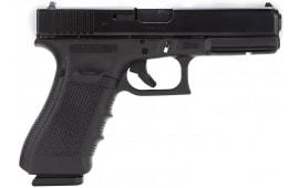 "Glock PG3750201 G37 Gen 4 45 GAP 4.49"" 10+1 FS Modular Backstrap Black"