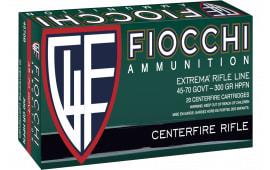 Fiocchi 4570B 4570GVT 300 JHC - 20rd Box