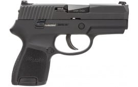 "Sig 250SC40B P250 Subcompact DAO 40 S&W 3.6"" 10+1 CS Black Poly Grip Black Nitron"