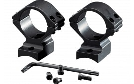 Browning 12393 2-Piece Base/Rings For A-Bolt Integral Mounting System Style Black Matte Finish Medium