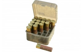 "MTM S2512M41 Dual GA Shotshell Case 3.5"" 10/12ga 25rd Poly Smoke"