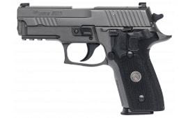 """Sig Sauer E29RLEGION P229 Legion DA/SA 9mm 3.9"""" 15+1 Black G10 Grip Gray"""