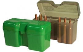 MTM RF22SM41 RF-22 Rifle Ammo Box Flip-Top 22rd WSM Poly Smk