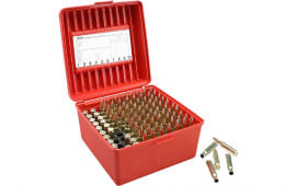 MTM R100MAG30 Rifle Ammo Deluxe R-100 Magnum 100rd Polypropylene Red