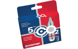 Crosman 231B Powerlet CO2 Cartridges 12 Grams Stainless 5pk