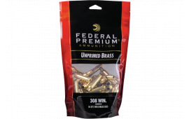 Federal PR308UPB50 GM 308 UNP Bagged Brass 50