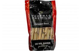 Federal PR300UPB50 GM 300 WIN UNP Bagged Brass 50