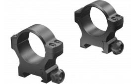 Leupold 175123 BackCountry Cross-Slot Ring Set 34mm Diam High Aluminum Black Matte