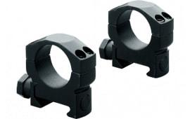 Leupold 61049 Mark 4 Ring Set 30mm Diam Medium Steel Black Matte