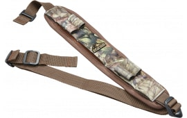 "Butler Creek 180037 Comfort Stretch Adjustable x 1"" 1"" Swivel Neoprene Mossy Oak New Break-Up"