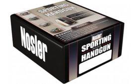 Nosler 44848 Sporting Handgun Pistol Jacketed Hollow Point 9mm .355 115 GR 250 Per Box