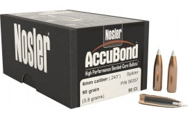Nosler 52165 AccuBond .308 125 GR 30 Caliber 50 Per Box