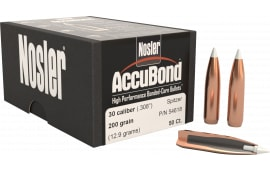 Nosler 54618 AccuBond .308 200 GR 30 Caliber 50 Per Box