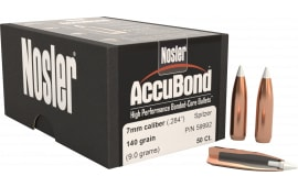 Nosler 59992 AccuBond .284 140 GR 7mm 50 Per Box