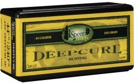 Speer Bullets 4456 Handgun Hunting 44 Caliber .429 240 GR DeepCurl Soft Point 50 Box