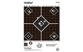 Champion Targets 45804 VisiShot Interactive Sight-In 5-Diamond Paper Target 10 Pack