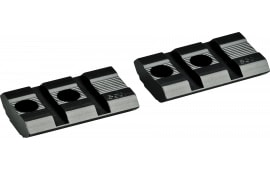 Redfield Mounts 47523 2-Piece Base For Mossberg 500 Weaver Style Black Finish