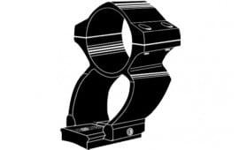 Kwik-Site KS202S See-Thru Rings For Weaver Style Bases Stainless Finish