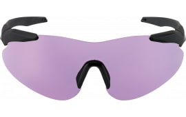 Beretta OCA100020316 Soft Touch Shooting Glasses Black Frame Purple Lenses