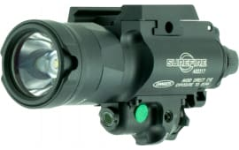Surefire X400UHAGN X400 Ultra WeaponLight with Green Laser 600 Lumens 123A Lithium (2) Black
