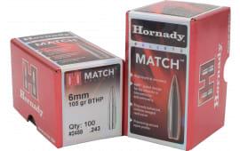 Hornady 2249 Match 22 52 GR 100 Per Box