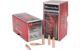 Hornady 26176 ELD Match 6.5mm .264 123 GR 100 Box