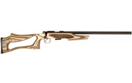 "CZ 02245 CZ 455 Varmint Evolution Bolt .17 HMR 20.5"" 5+1 Laminate Coyote Stk"