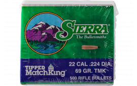 Sierra 7169C .224 69 Tipped MK 500