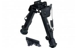 "UTG TL-BP98Q Super Duty Bipod with QD Lever Mount Black Metal 6-8.5"""