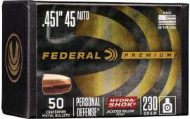 Federal PB45HS230 Bull .451 230HS(45) 50/4