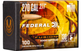 Federal FB277F2 Bull .277 130FUS 100/4