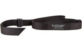 "Blackhawk 70UT00BK Universal Tactical Adjustable Rifle Sling 1.25"" Swivel Size Nylon Webbing Black"