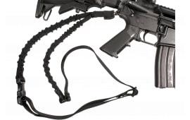 "Blackhawk 70GS12BK Storm Single Point Rifle Sling 1.25"" Swivel Nylon Webbing Black 30""-50"""