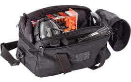 "Blackhawk 74RB02BK Sportster Pistol Range Bag Transport Bag 600D Polyester 16"" x 9"" x 8"" Black"