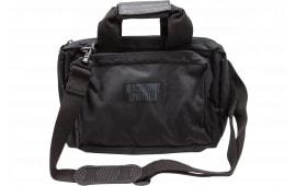 """Blackhawk 73SB00BK Sportster Shooter''s Bag 600D Polyester Black 13"""" x 9"""" x 4.5"""