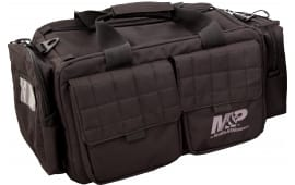 "M&P Accessories 110023 Officer Tactical Range Bag Nylon 22"" x 14"" x 10.5"" Exterior Black"
