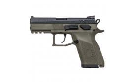 CZ 91077 P07 9mm Odg/black 15rd