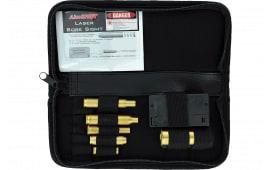 Aimshot Ktmaster KT Master Rifle Bore Sight Kit Green Laser Boresighter Arbor Multiple Chamber Brass