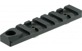Strike SILINKRS6BK Accessory Rail For AR 1-Piece Style Black Hard Coat Anodized Finish
