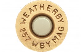Weatherby BRASS257 Unprimed Brass 257 Weatherby Magnum 20 Per Box