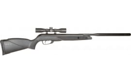 Gamo 6110067854 Wildcat Whisper Air Rifle Break Open .177 Pellet Black Synthetic