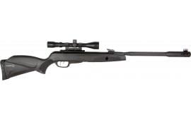 Gamo 611006325554 Whisper Fusion Mach 1 Air Rifle Break Open .22 Pellet Black