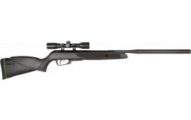 Gamo 611006785554 Wildcat Whisper Air Rifle Break Open .22 Pellet Black Synthetic