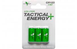 Viridian CR1233 CR123A 3V Lithium 3 Pack
