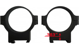 CZ 40012 Alum Scope Rings 34MM CZ550/557 LOW Matte