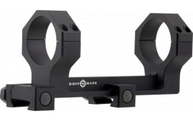 Sightmark SM34018 1-Pc Base & Ring Combo For AR-15 Cantilever Style Black Finish 34mm